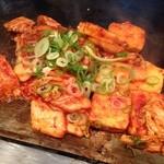 京都きん家 - 豆腐キムチ。京都産の豆腐を使っているそうです。