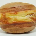 小布施栗菓製造 - 栗福(おしりはこんな感じ、2012年12月)