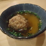 16459918 - 合鴨つくねスープ