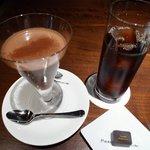 ピエール マルコリーニ - Simple Cold Chocolate、アイスコーヒー