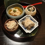 京和食 かもめ - 前菜