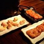 本格焼酎と炭火ホルモン焼き - 2012.12