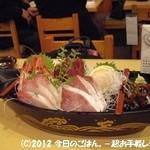 大衆酒蔵 日本海 - 五点盛りは船盛り