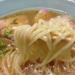 16464663 - 馬鹿盛 中華そばの麺