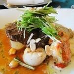 レ・セゾン - お肉とお魚のメインディッシュ