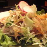 灯とともに - 彩り野菜アップ