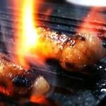 ホルモン3連勝 - 料理写真:人気の丸腸☆とろっとした食感♪口の中で脂が解けていく快感を味わってください☆