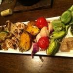 16466917 - 焼き野菜盛り