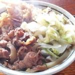 こだちうどん - 肉天うどん500円
