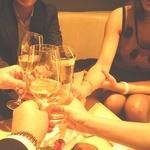 Tre・Tre - 本日3度目の乾杯!北新地の友人の女性も合流です!