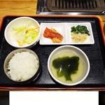 生焼肉 A5 KURA - 昼会席
