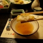 割烹 丸清 - はも天ぷら