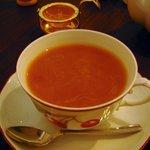 カフェ カトル ヴァン ヌフ 横浜 - 紅茶(アッサム)