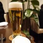 Chuugokuryouritambo - 生ビールで乾杯です