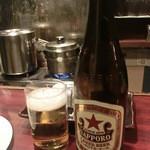 和レー屋 南船場ゴヤクラ - ビールで別れを告げる、今までご苦労さんゴヤクラ旧店舗