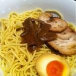 らーめん 羽化庵 - 味噌つけ麺(ピリ辛)