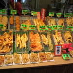 天ぷら 日進堂 - 凄い種類の天ぷらがあります