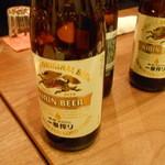 蔓山 - とりあえずビールから。。。