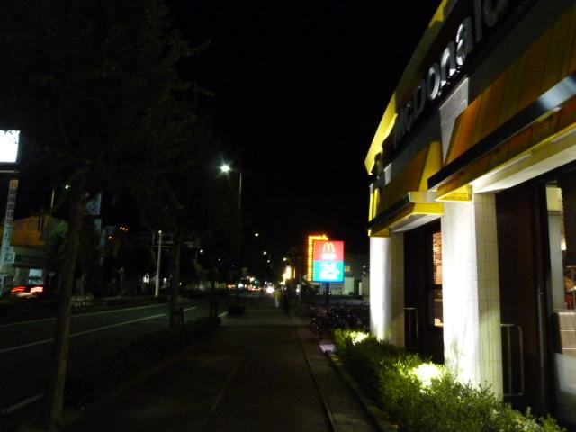 マクドナルド 上津バイパス店