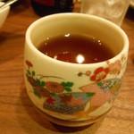 蔓山 - 〆のホットウーロン茶