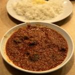 レストラン ザクロ - 2012.12 キーマカレー