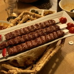 レストラン ザクロ - 2012.12 シークカバブ