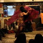 レストラン ザクロ - 2012.12 Nourah(ノーラ)さんのベリーダンス