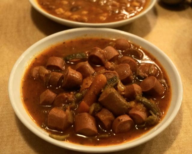 レストラン ザクロ - 2012.12 チキンソーセージカレー