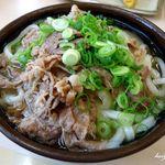 こがね製麺所 - 肉うどん2玉