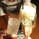 16477188 - 乾杯。スパークリングはスパークしていなかった