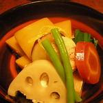 とんぼ - 野菜の炊き合わせ(冷)