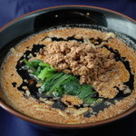 地獄の担担麺 - 黒マー油担担麺