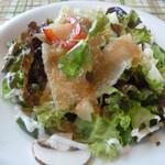 パイナップル畑 - 生ハムのサラダ