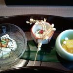 亀よし - 前菜