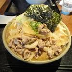 麺屋 大和 - 肉そば(680円)+野菜マシ(100円)