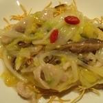 香港私菜 Repulse Bay - 『五目カタ焼きそば』!クコの実が入っている~♪(^o^)丿