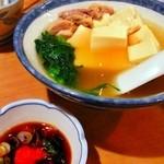 三州屋 - とり豆腐¥440