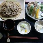 16486861 - 野菜天せいろ@My箸バージョン