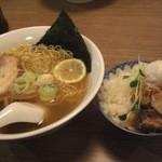 ラーメン 963+ - ランチCセット(塩ラーメン+チャーシュー丼)¥880