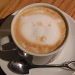 スコップカフェ - アマレットラテ 600円
