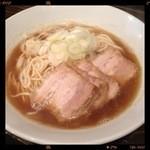 麺処 遊 - 肉中華そば 750円