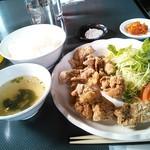あぶり屋 - 料理写真:唐揚げランチ