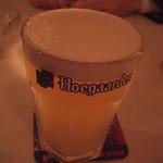 マディグーカフェ - クリーミーなヒューガルデン・ホワイト♪