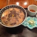 16488415 - ぶちこみ蕎麦(きのこたっぷり味噌味)