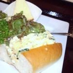 喫茶 神戸館 - ポテトサラダサンドです