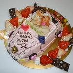 BIRTHDAY - 料理写真:結婚記念日に憧れのポルシェに乗ったお父さんとお母さん