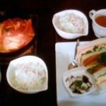 喫茶 神戸館 - サンドイッチセット全体写真です