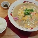 IMAGINE+ - 天津ちゃんぽん700円+白飯80円
