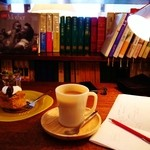 センダイコーヒー - NYサワースタイルコーヒーケーキとチャイ