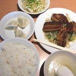 台湾料理 新東洋 - 豚の角煮定食